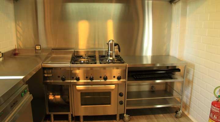 Cocina profesional for Cocina profesional en casa